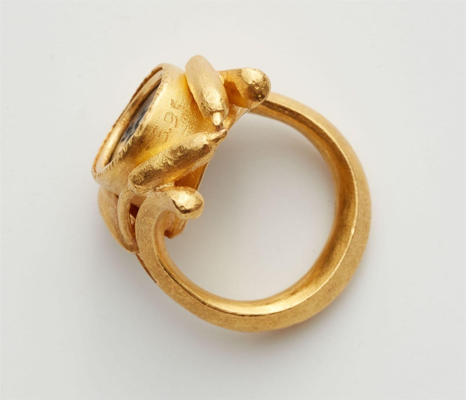 Ring mit römischer Gemme - Bild 3 aus 4