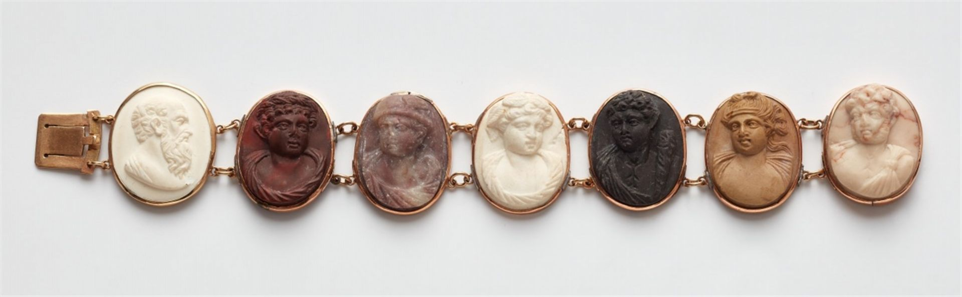 Souvenir-Armband mit Lavakameen