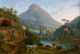 Jacob Philipp HackertBlick auf Molina im Tal von la Cava und den Monte San Liberatore