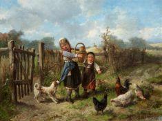 Mari Ten KateBei den Hühnern