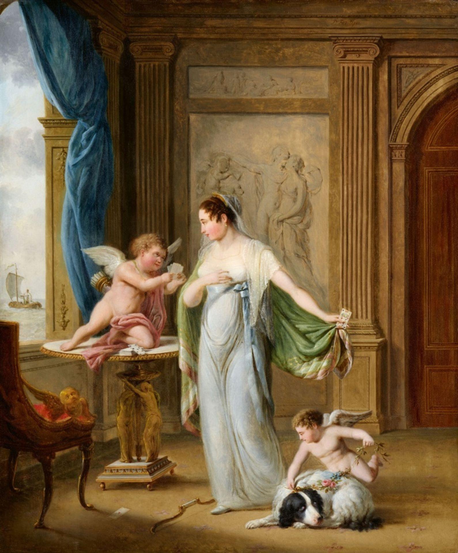 Pieter FonteynAllegorie der Liebe