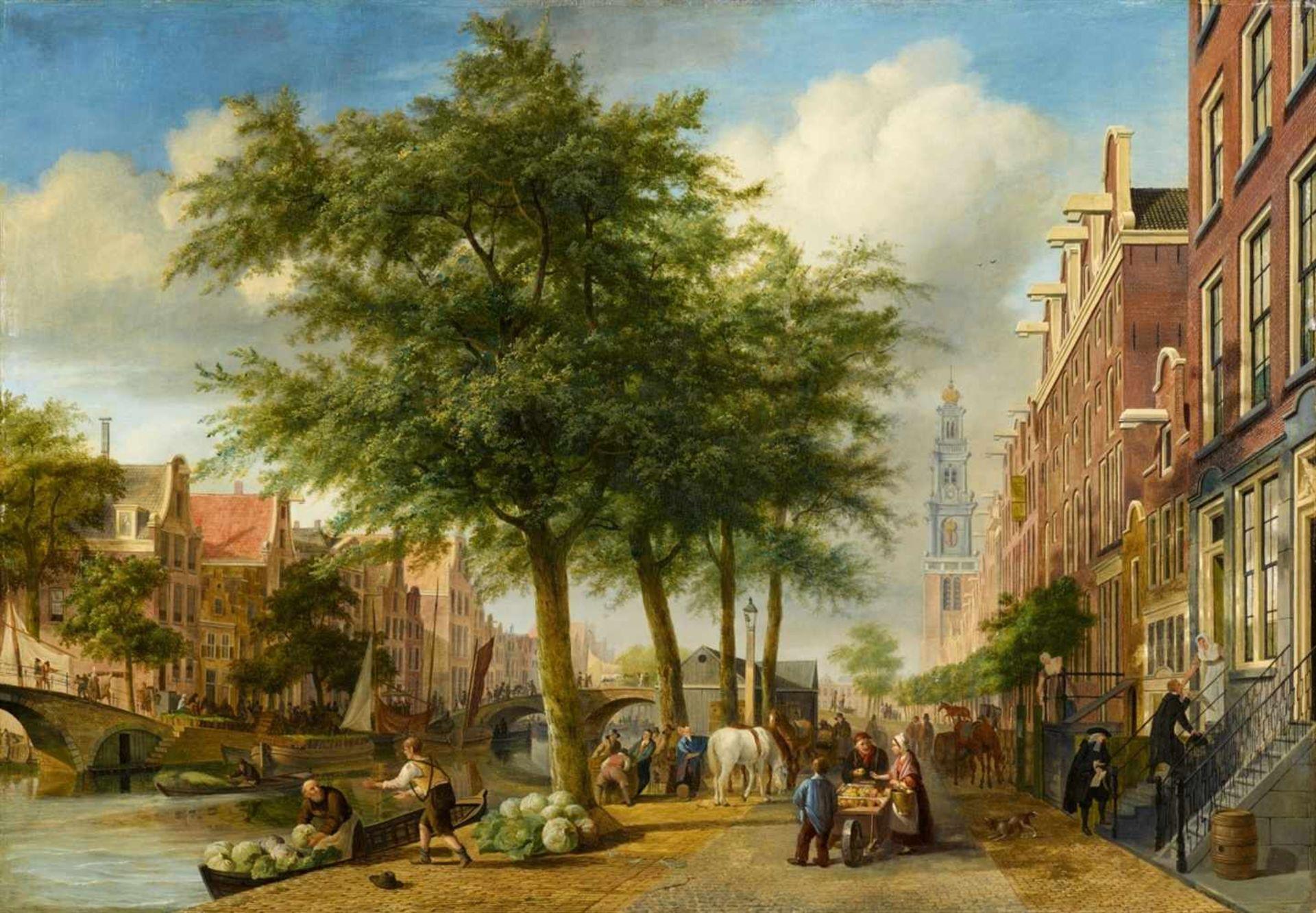 Peter Paul Joseph NoëlDie Prinsengracht in Amsterdam