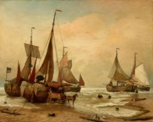 Andreas AchenbachEntladung der Fischerboote