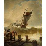 Andreas AchenbachFischerboot auf bewegter See