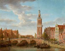 Jan Ekels der Ältere, UmkreisAnsicht von Amsterdam mit dem Roodenpoortstor