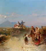 Franz Richard UnterbergerStraße nach Pompeij