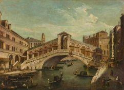 Venezianischer Meister um 1800Ansicht der Rialtobrücke