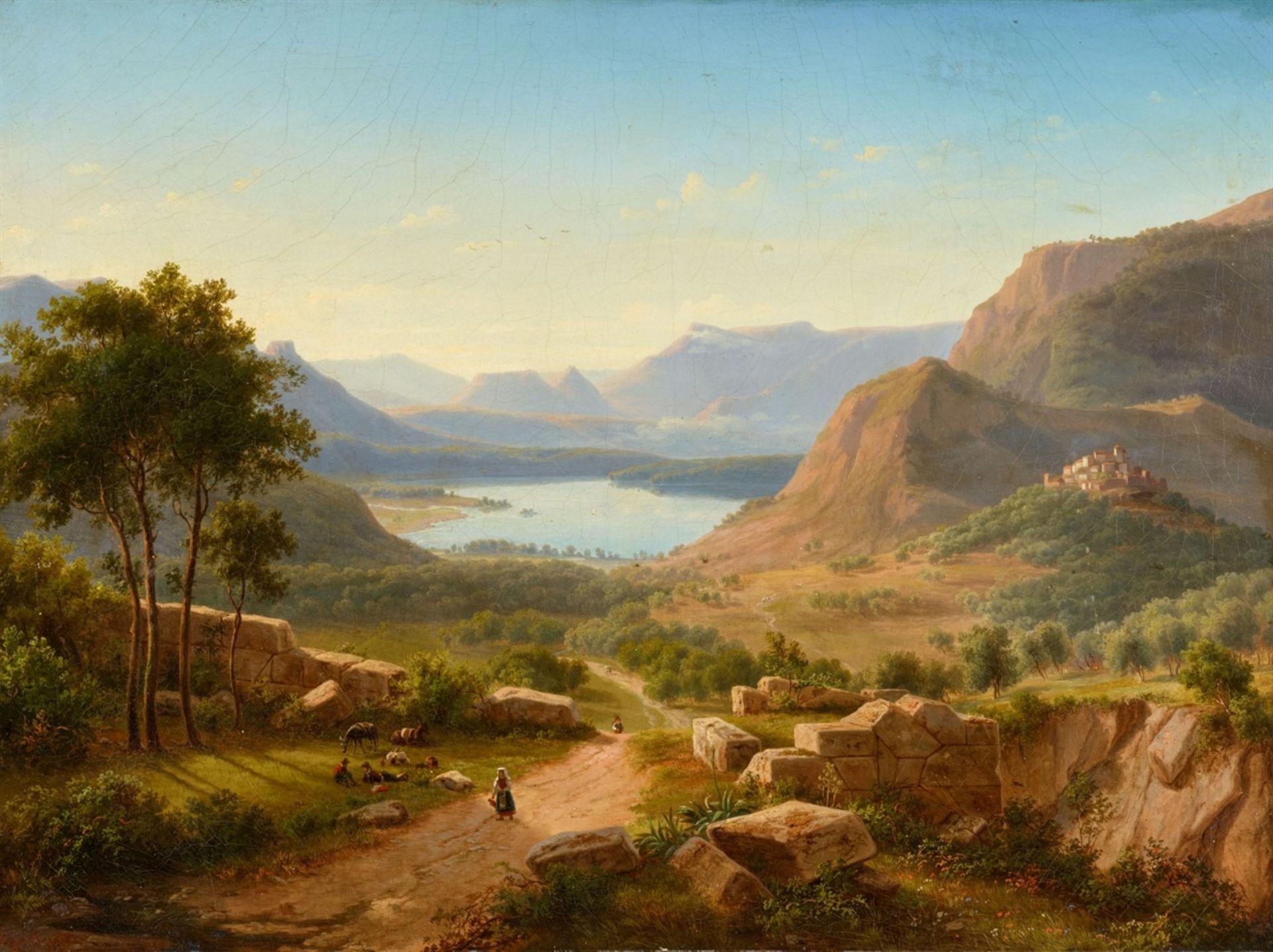Eugen von GuérardItalienische Landschaft