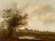 Anthony Jansz van der CroosLandschaft mit Blick auf Huis ter Nieuburch in Rijkswijk