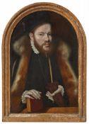 Kölner Meister der frühen 1570er JahreBildnis eines Mannes mit Pelzschaube