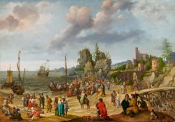 Adam WillaertsJesus predigt am See Genezareth