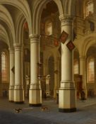 Hendrick Cornelisz van VlietInterieur der Nieuwe Kerk in Delft mit dem Grab Wilhelms I. von O