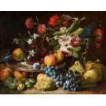 Abraham BrueghelStillleben mit Blumen und Früchten