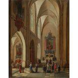 Peeter Neeffs d. J.Kircheninterieur