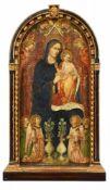 Rossello di Jacopo FranchiMadonna mit Kind und Engeln