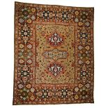 Wirkteppich im orientalischen Stil
