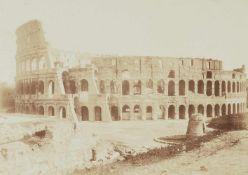 AnonymVier Ansichten von Rom: Konstantinsbogen, Santa Maria Maggiore, Kolosseum, Forum Romanu
