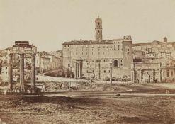 James AndersonForum Romanum, Blick auf das Kapitol