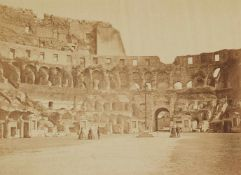 Gioacchino Altobelli & Pompeo MolinsInnenansicht des Kolosseums