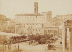 Tommaso CuccioniForum Romanum, Blick auf das Kapitol