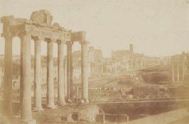 Giacomo CanevaTempel des Saturn, Forum Romanum