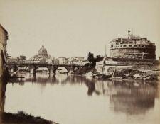 Tommaso CuccioniBlick auf den Tiber mit Engelsburg