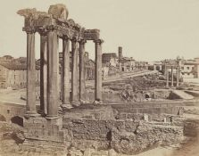 James AndersonTempel des Saturn, Forum Romanum