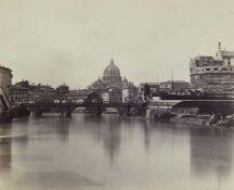 Charles SoulierBlick auf den Tiber mit Engelsbrücke