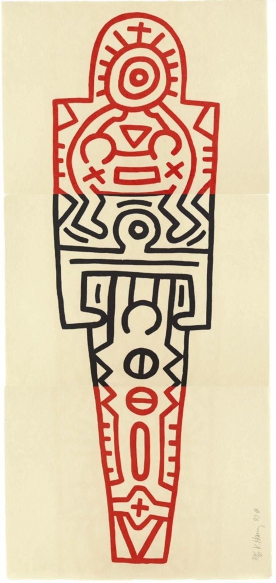 Keith HaringTotem