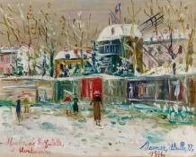 Maurice UtrilloMoulin de la Galette à Montmartre