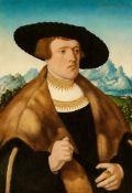 Conrad Faber von KreuznachBildnis des Johann Raiss vor weiter LandschaftBildnis der Anna