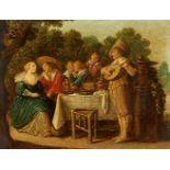 Esaias van de Velde, zugeschriebenFröhliche Gesellschaft im Freien