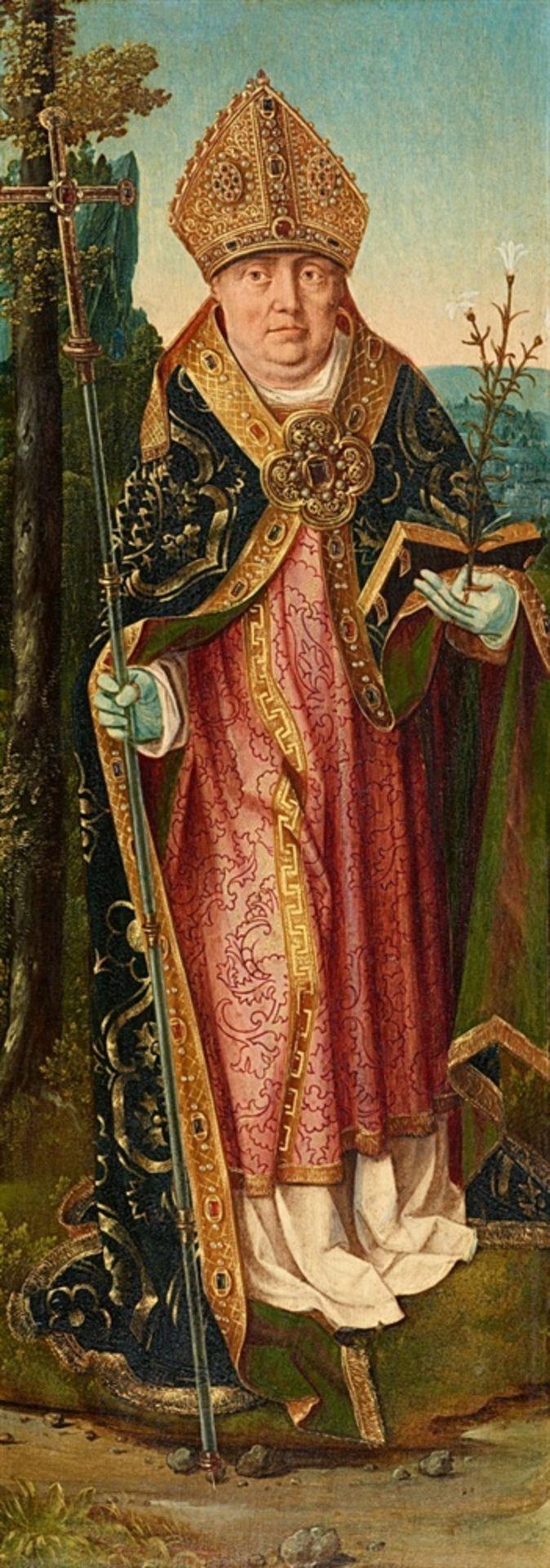 Bartholomäus Bruyn d. Ä., zugeschriebenHeiliger Bischof
