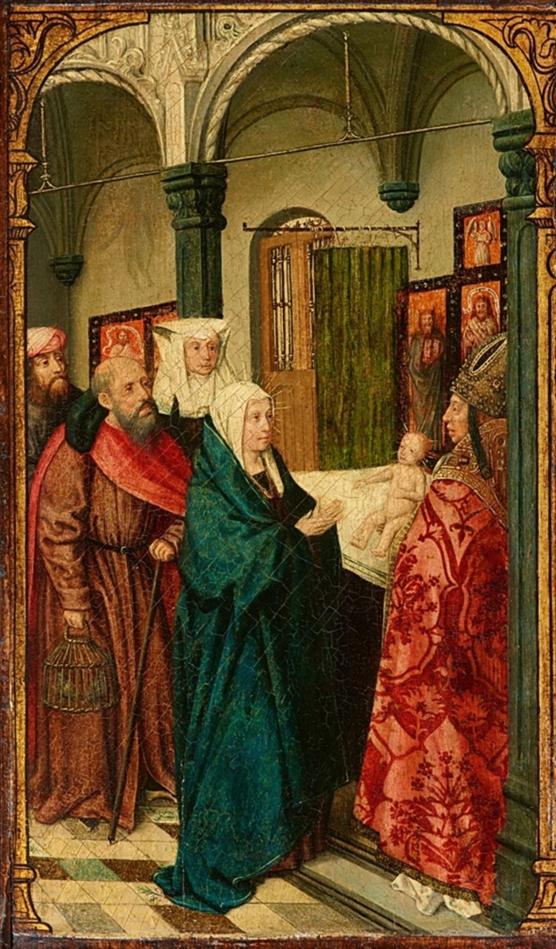 Südniederländischer Meister des späten 15. JahrhundertsDarbringung im Tempel