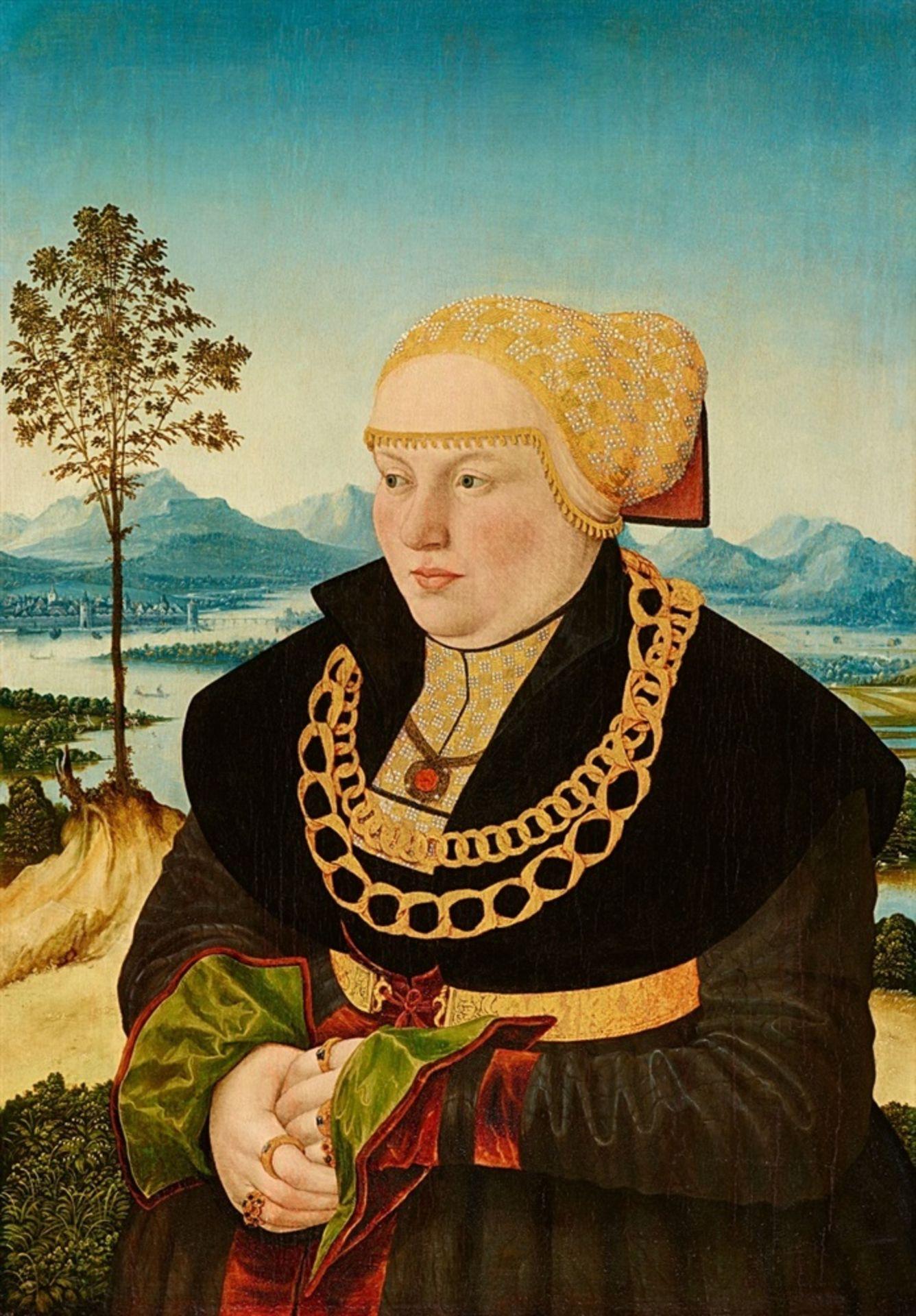 Conrad Faber von KreuznachBildnis des Johann Raiss vor weiter LandschaftBildnis der Anna - Bild 2 aus 2