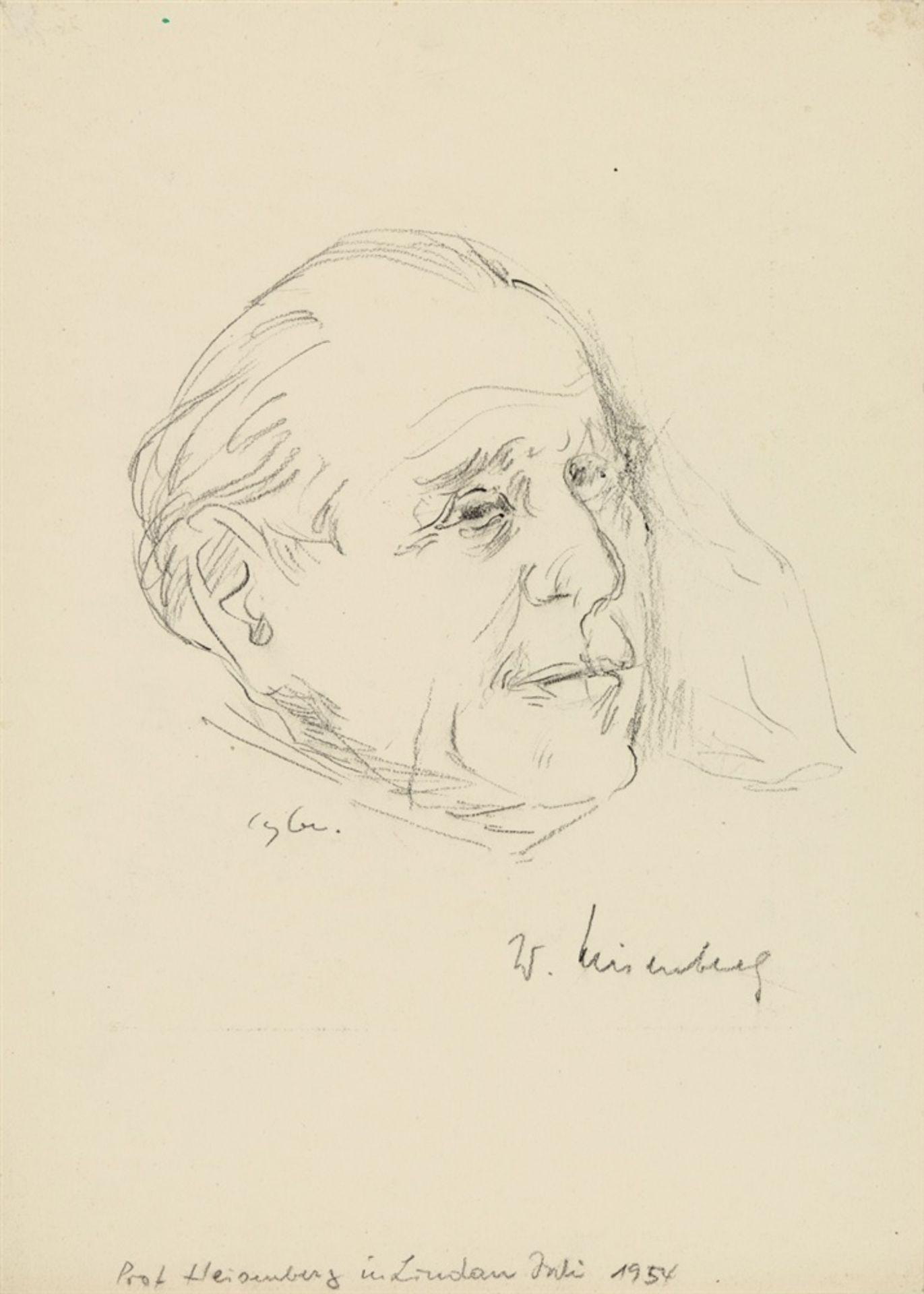 Curth Georg BeckerPorträts von Nobelpreisträgern - Bild 3 aus 18