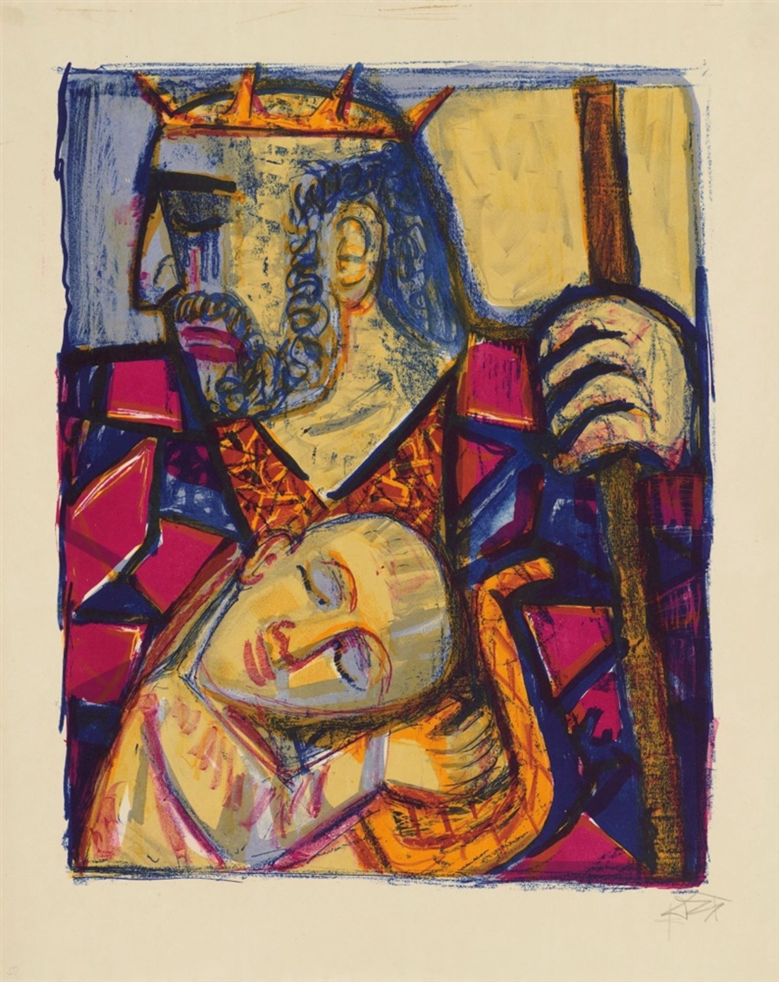 Otto DixSaul und David