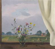 Herbert BöttgerBlumen am Fenster