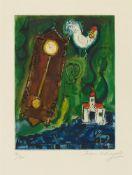 Marc ChagallL'Horloge