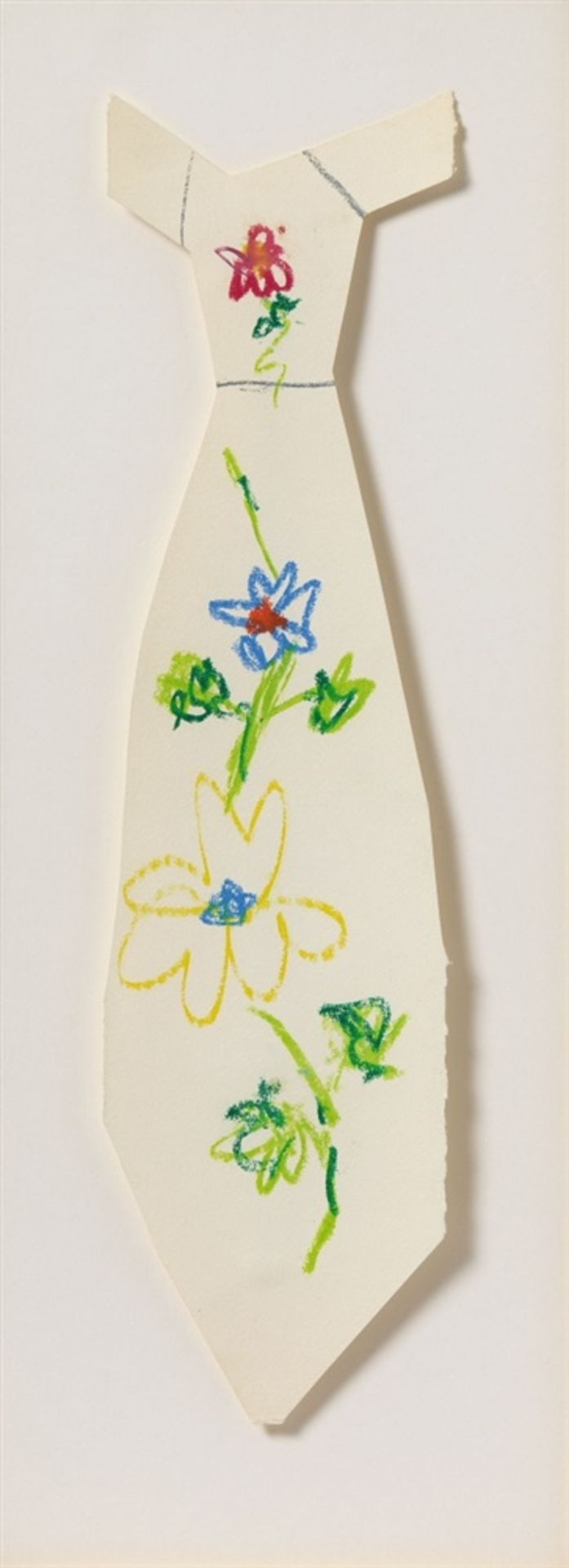 Pablo PicassoProjet pour un cravate à fleurs