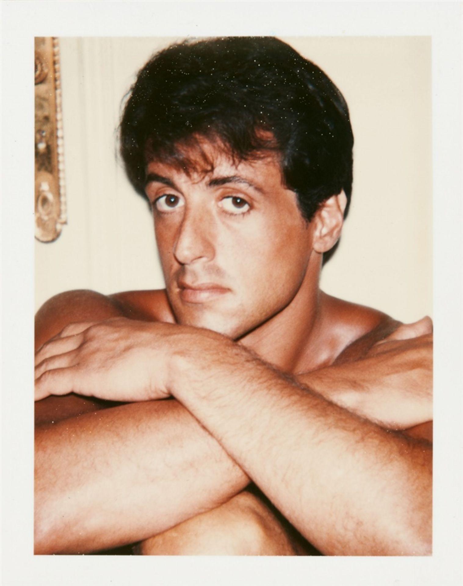 Andy WarholSylvester Stallone