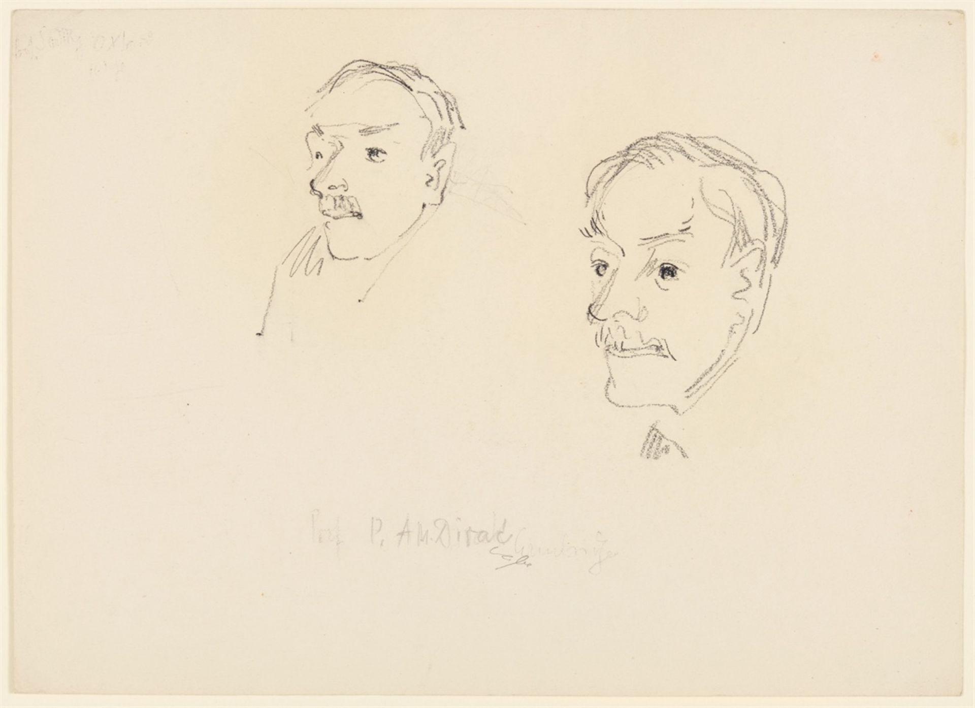 Curth Georg BeckerPorträts von Nobelpreisträgern - Bild 10 aus 18