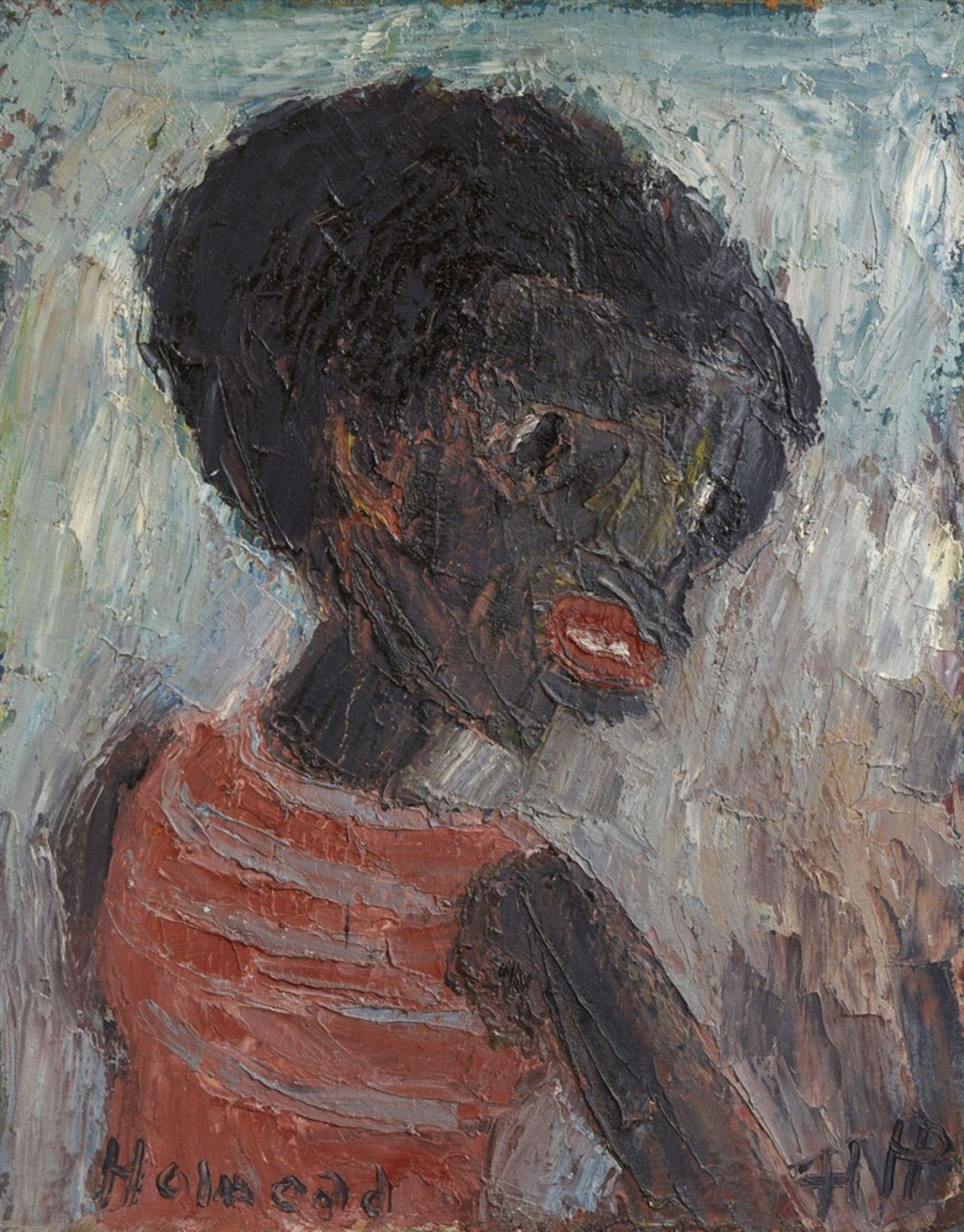 Holmead (Clifford Holmead Philipps)Schwarzer Junge