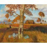 Otto ModersohnHerbst im Moor