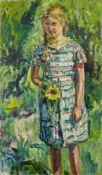 Franz FrankMädchen im Garten (die Tochter des Künstlers)