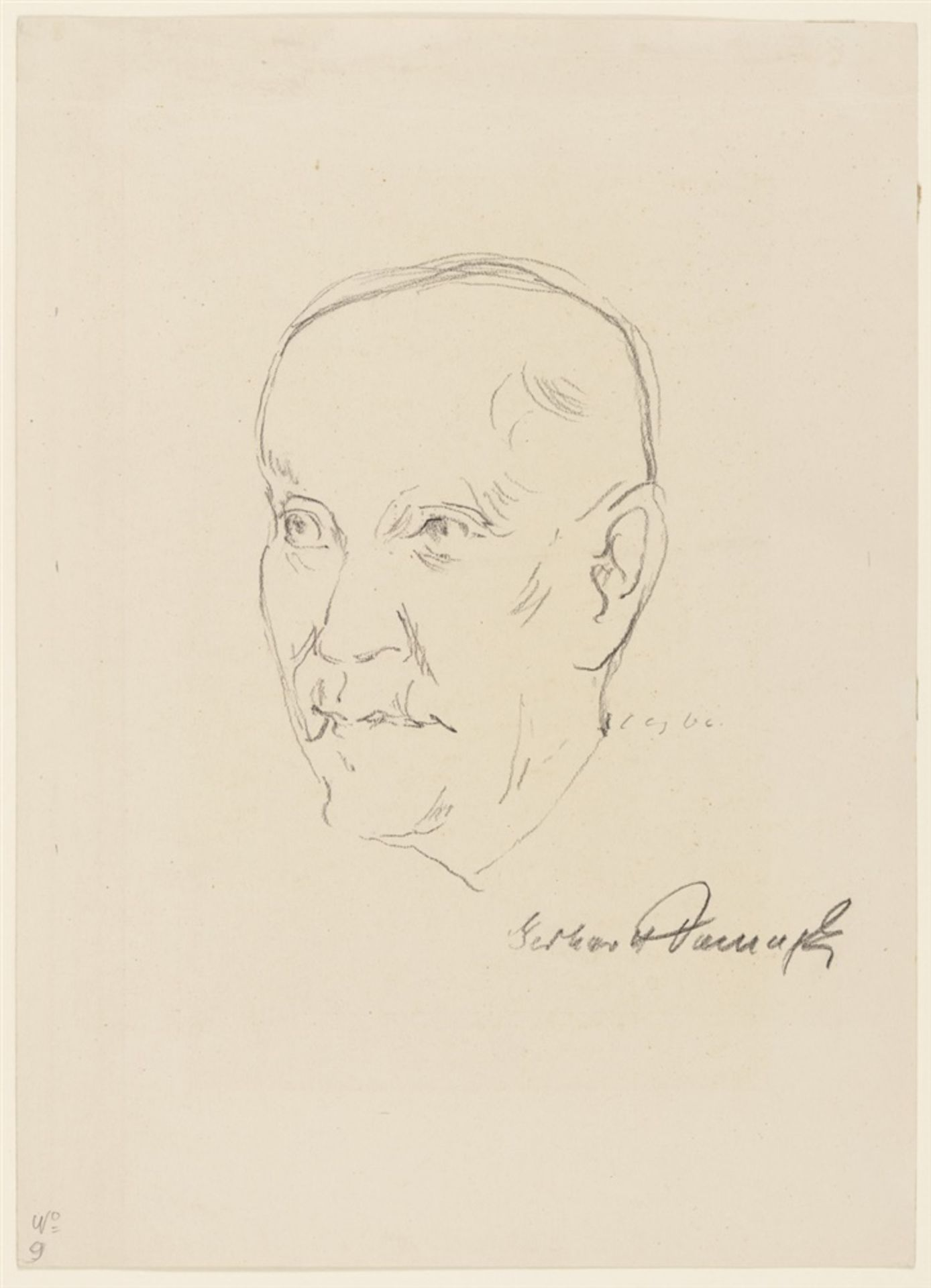 Curth Georg BeckerPorträts von Nobelpreisträgern - Bild 16 aus 18