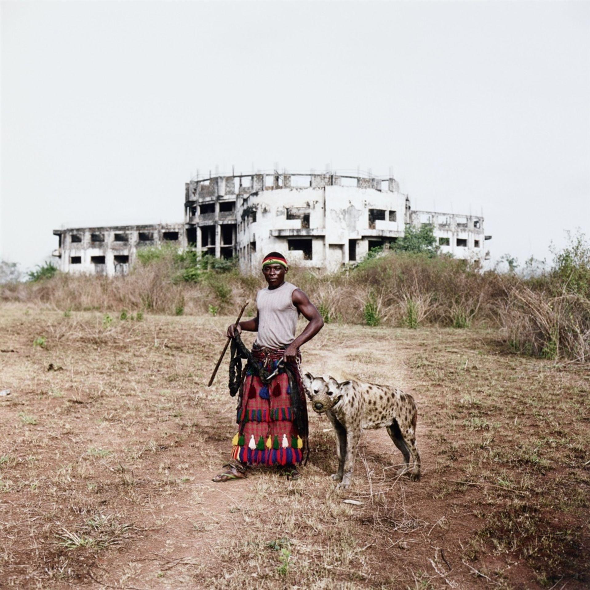 Pieter HugoMohammed Rabiu with Jamis, Ibusa, Nigeria