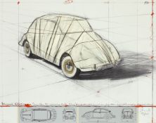 ChristoWrapped Volkswagen, Project for 1961 Volkswagen Beetle Saloon