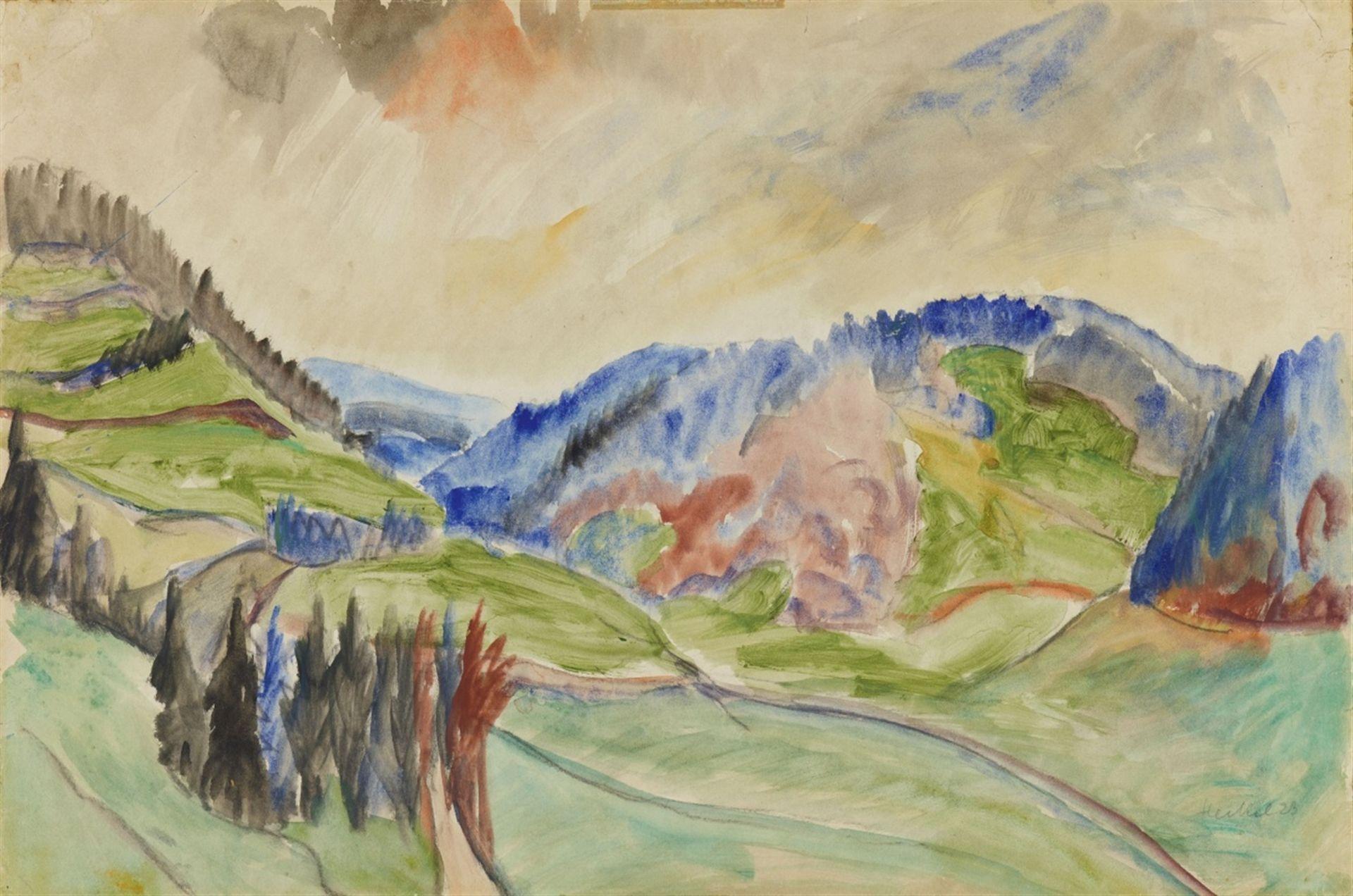 Erich HeckelVorfrühling im Gebirge
