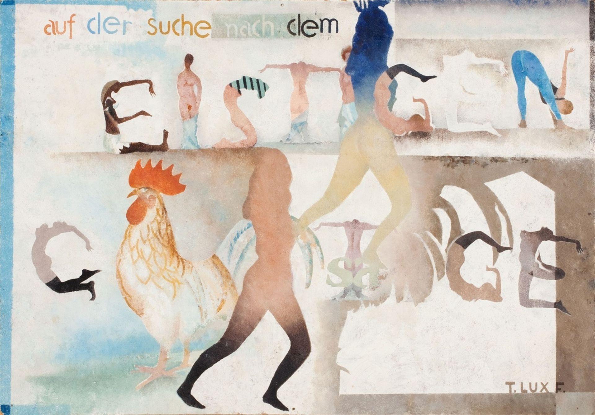 T. Lux FeiningerAuf der Suche nach dem Geistigen (Searching the Spiritual)